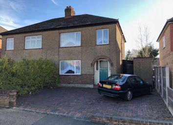 Thumbnail 3 bed semi-detached house to rent in Coombe Road, Harold Wood, Romford