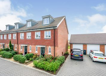 Hangar Drive, Tangmere, Chichester PO20. 3 bed end terrace house