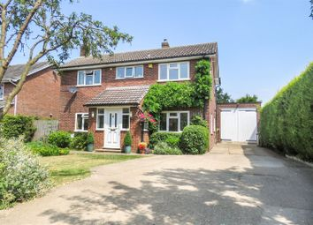 Thumbnail 4 bed detached house for sale in Jubilee Lane, Langford, Biggleswade