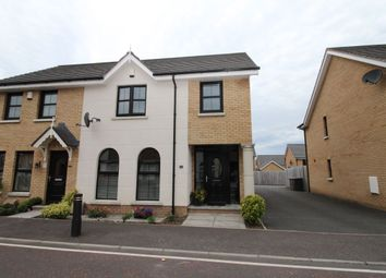 Thumbnail 3 bed semi-detached house to rent in Mornington Gardens, Lisburn
