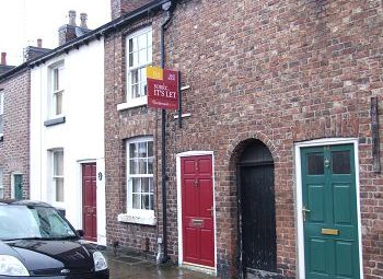 Thumbnail 2 bed terraced house to rent in High Street, Macclesfield, Cheshire