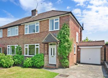 Thumbnail 3 bed semi-detached house for sale in Lechford Road, Horley, Surrey