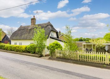 Thumbnail 2 bed cottage for sale in Bartlow Road, Castle Camps, Cambridge