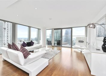 Thumbnail 3 bed flat for sale in Landmark West, 22 Marsh Wall, London
