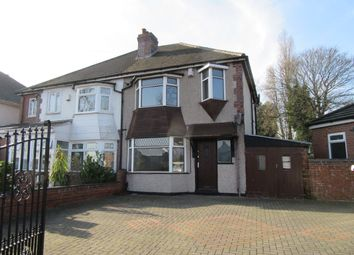 Thumbnail 3 bed semi-detached house for sale in Bromford Lane, Ward End, Birmingham, West Midlands