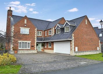 Thumbnail 5 bed detached house for sale in Montague House, Refail Park, Welshpool, Welshpool, Powys