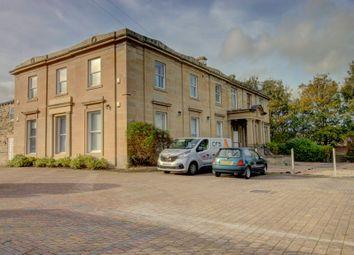 Thumbnail 2 bed flat for sale in Moorside Avenue, Crosland Moor, Huddersfield