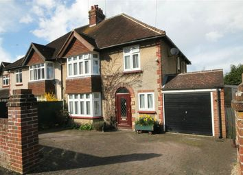 Thumbnail 3 bedroom semi-detached house for sale in Highfield Road, Newbury