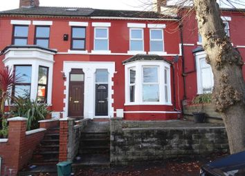 Thumbnail 4 bedroom terraced house to rent in Windsor Road, Barry