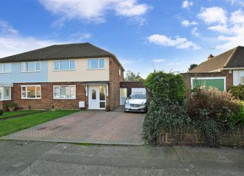 Thumbnail 3 bed semi-detached house for sale in Harvey Road, Willesborough, Ashford, Kent
