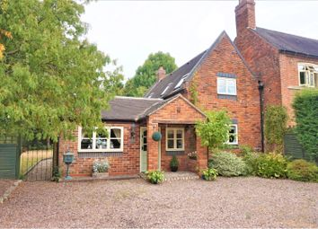 Thumbnail 2 bed cottage for sale in Watery Lane Curborough, Lichfield