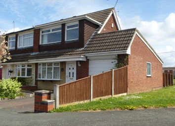 Thumbnail 3 bed semi-detached bungalow to rent in Pelican Close, Sydney, Crewe, Cheshire