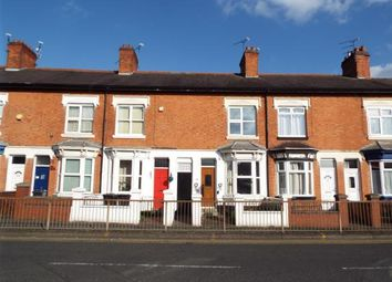 Thumbnail 2 bed terraced house for sale in Fosse Road North, Leicester, Leicestershire
