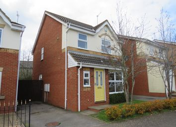 Thumbnail 3 bed detached house for sale in Copymoor Close, Wootton, Northampton