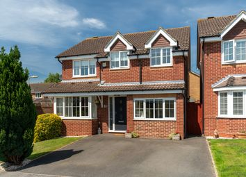 Thumbnail 4 bed detached house for sale in Burmese Close, Fareham