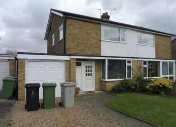 Thumbnail 3 bed semi-detached house for sale in Churchill Road, Oakham
