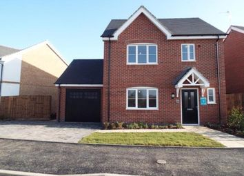 Thumbnail 3 bed detached house for sale in Hallcroft Grange, Off Station Road, Countesthorpe, Leicestershire