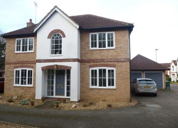 Thumbnail 4 bedroom detached house for sale in Borthwick Park, Orton Wistow, Peterborough