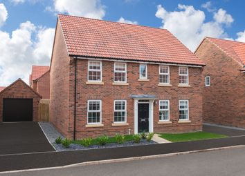 """Thumbnail 4 bedroom detached house for sale in """"Chelworth"""" at Yafforth Road, Northallerton"""