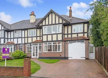 Thumbnail 6 bed semi-detached house for sale in Claremont Road, Bickley, Bromley