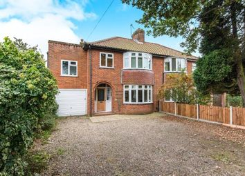 Thumbnail 4 bed semi-detached house for sale in Norwich, Norfolk