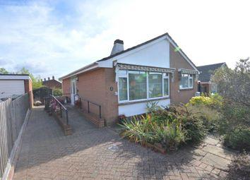 Thumbnail 2 bed detached bungalow for sale in Dorset Avenue, Exeter, Devon
