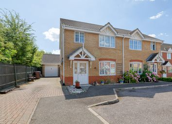 3 bed semi-detached house for sale in Redwing Rise, Royston SG8