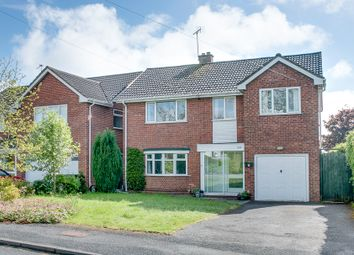 Thumbnail 5 bed detached house for sale in Evesham Road, Astwood Bank, Redditch