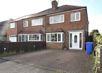 Thumbnail 3 bed semi-detached house for sale in Gisburn Road, Hessle