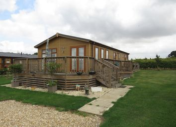 Thumbnail 2 bedroom lodge for sale in Mareham Lane, Spanby, Sleaford