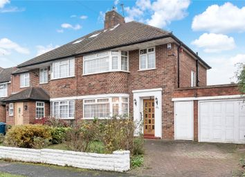 Thumbnail 3 bedroom semi-detached house for sale in Silverston Way, Stanmore, Middlesex