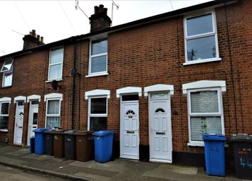 Thumbnail 2 bed terraced house to rent in Cullingham Road, Ipswich