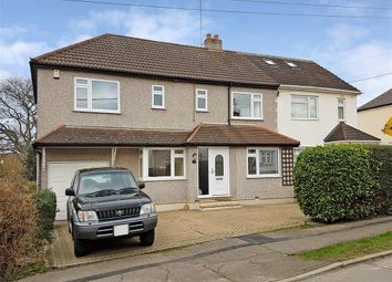 Thumbnail 4 bed semi-detached house for sale in The Rising, Billericay, Essex