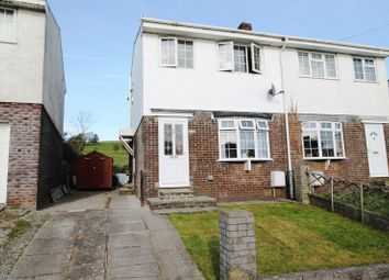 Thumbnail 3 bed semi-detached house to rent in Meadow Rise, Brynna