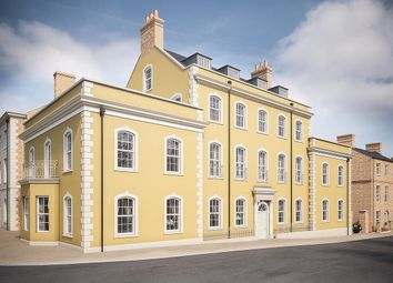 Thumbnail 3 bed flat for sale in Vickery Court, Poundbury, Dorchester