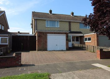 Thumbnail 3 bed semi-detached house to rent in Harley Grove, Darlington