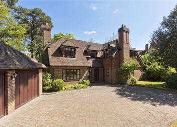 Thumbnail 5 bed detached house to rent in Oldfield Wood, Woking, Surrey