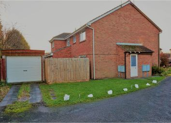 Thumbnail 1 bed end terrace house for sale in Marsh Close, Leicester