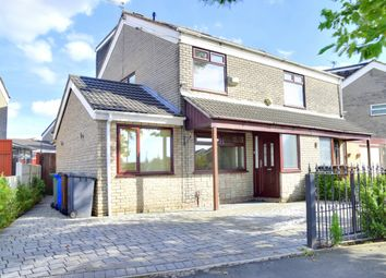 Thumbnail 4 bed semi-detached house for sale in Stour Road, Tyldesley, Manchester, Greater Manchester