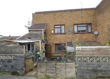 Thumbnail 3 bed semi-detached house for sale in Woodland Close, Bettws, Bridgend