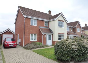 Thumbnail 4 bedroom detached house for sale in Speedwell Way, Norwich
