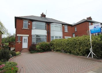 Thumbnail 3 bed semi-detached house to rent in Bury New Road, Ramsbottom, Bury