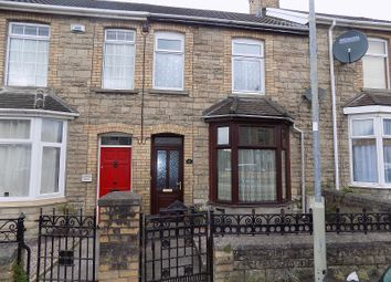 Thumbnail 3 bed terraced house for sale in Morfa Street, Bridgend