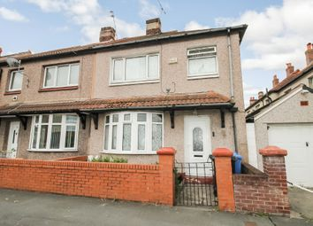 Thumbnail 3 bed semi-detached house for sale in Vezey Street, Rhyl