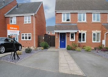 Thumbnail 2 bed semi-detached house for sale in Bannock Street, Weston Heights, Stoke-On-Trent