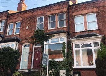 Thumbnail 3 bed terraced house for sale in Hartledon Road, Harborne, Birmingham