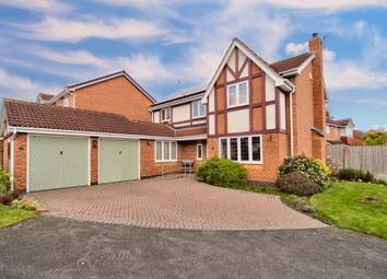 Thumbnail 5 bed detached house for sale in Hilton Park, Blidworth, Mansfield