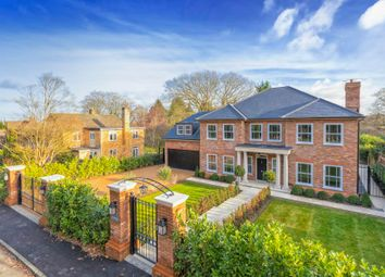 Thumbnail 5 bed detached house for sale in Knowle Grove Close, Virginia Water