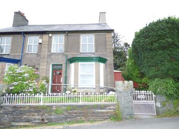 Thumbnail 3 bed semi-detached house for sale in Minffordd, Penrhyndeudraeth, Gwynedd