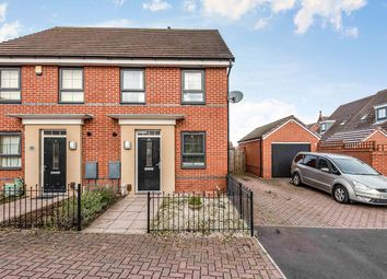 Thumbnail 2 bed semi-detached house for sale in Messenger Road, Smethwick, West Midlands